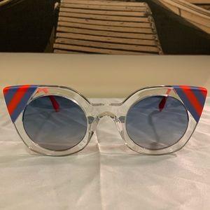 Fendi FF 0240/S Waves Ladies Sunglasses